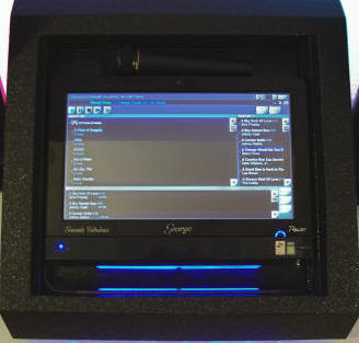 A Close up look at George Virtual DJ system from Sounds Fabulous for Graduations.